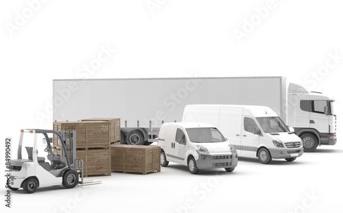 Fotografía  Transporte Urgente por Carretera