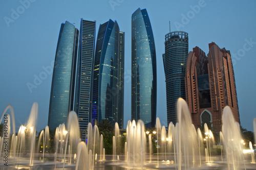 Spoed Foto op Canvas Abu Dhabi Abu Dhabi