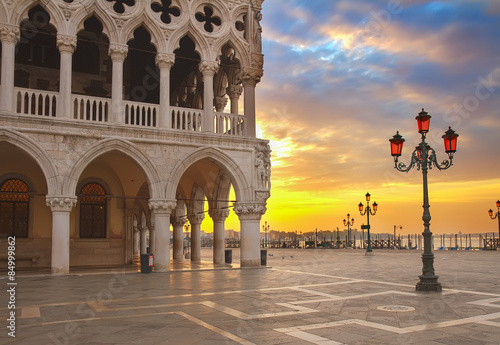 Foto  Doge palace, Venice, Italy