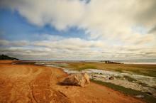 Seashore With Big Stone