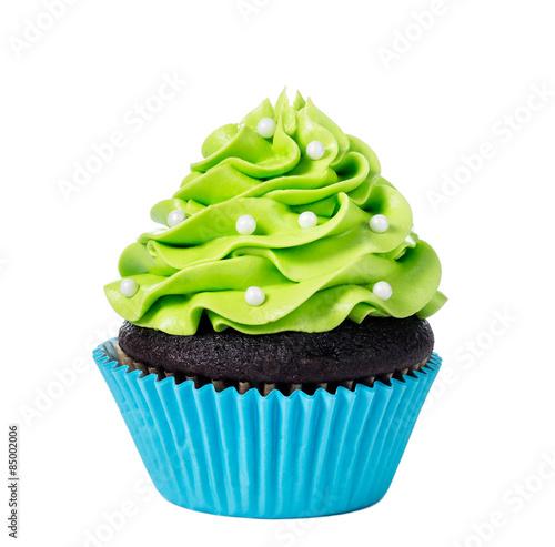 Photo  Green Cupcake