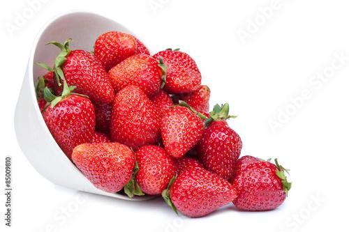 Fotografía  Strawberry in a bowl