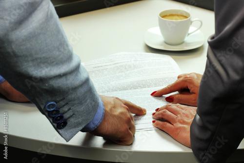 Fototapeta praca w biurze  obraz