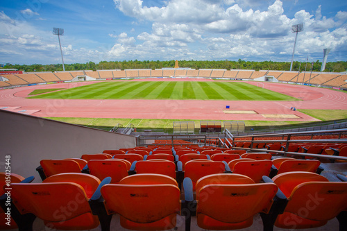 Papiers peints Stade de football Stadium and seat