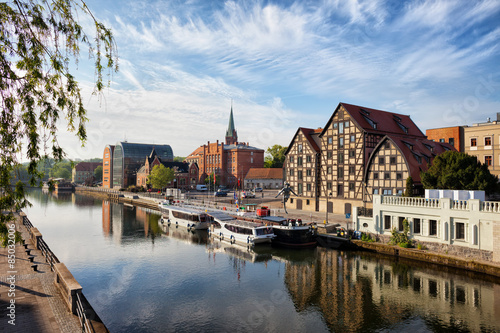 Obraz City of Bydgoszcz in Poland - fototapety do salonu