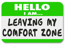 Leaving My Comfort Zone Name T...