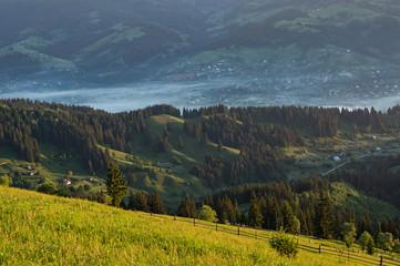 Fototapeta Góry Countryside in the hills