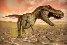 Tyrannosaurus Rex Dinosaur Roa...