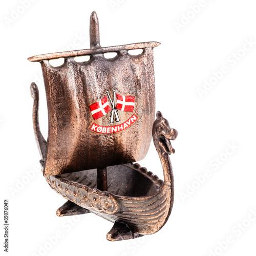 Photo  Viking ship model
