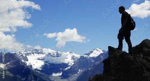 Foto op Plexiglas Alpinisme Berge