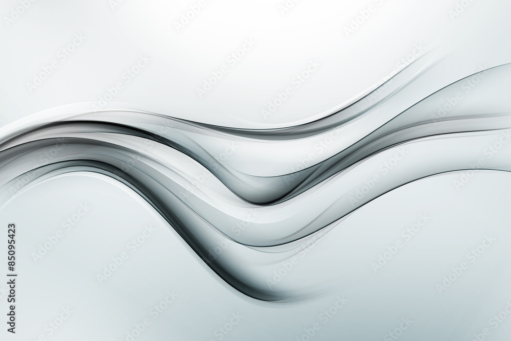 Fototapety, obrazy: Modern Grey Silver Abstract Background