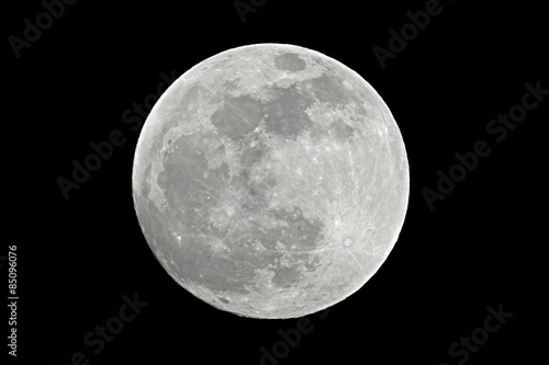 Cuadros en Lienzo Full moon closeup