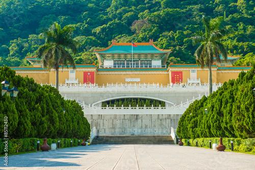 Fototapeta premium Muzeum Pałacu Narodowego w Tajpej na Tajwanie