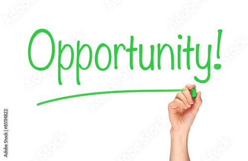 Fotografie, Obraz  Opportunity Concept