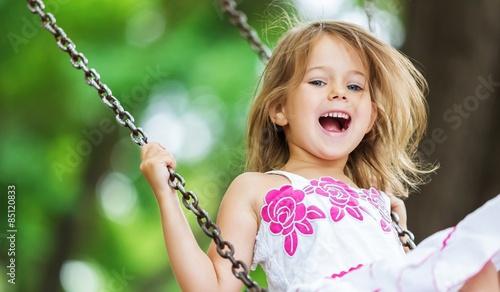 Child, Playing, Playground.