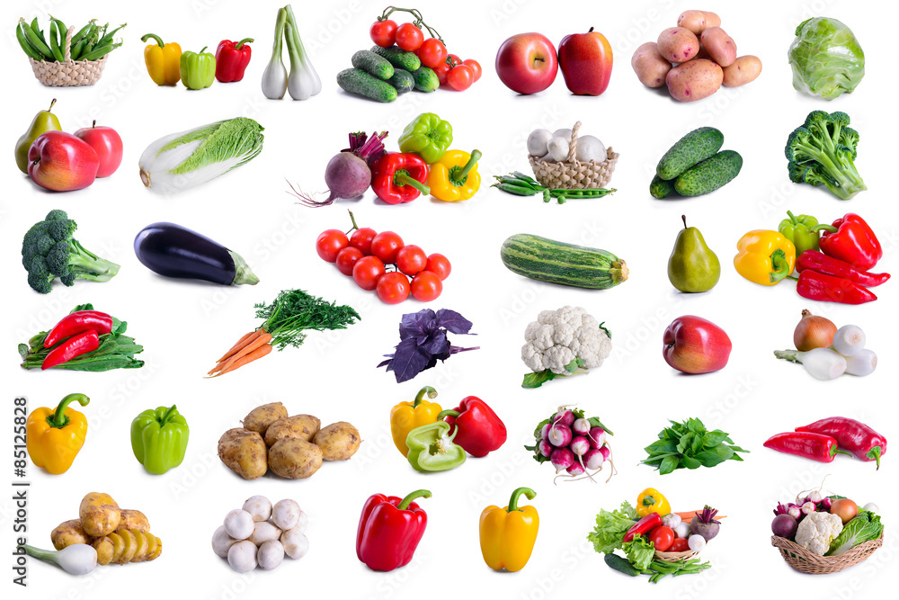 collection of lot vegetables