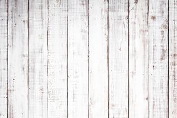 Fototapeta白い木板のテクスチャ背景