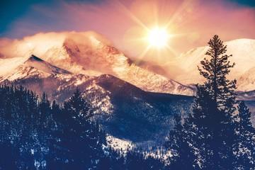 Fototapeta na wymiar Colorado Mountains Vista