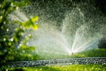 Rotating Lawn Sprinkler