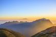 Mountain of Morning sun, Mt. Kaikomagatake, Yamanashi, Japan