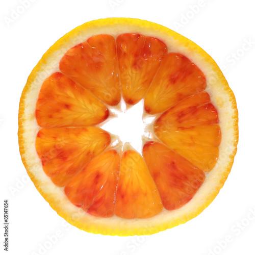 Fototapety, obrazy: Orange fruit slice
