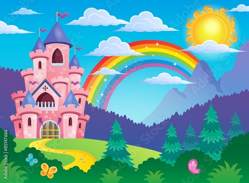 Pink castle theme image 4 Poster