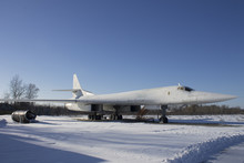 Tupolev Tu-160 Aircraft On Avi...