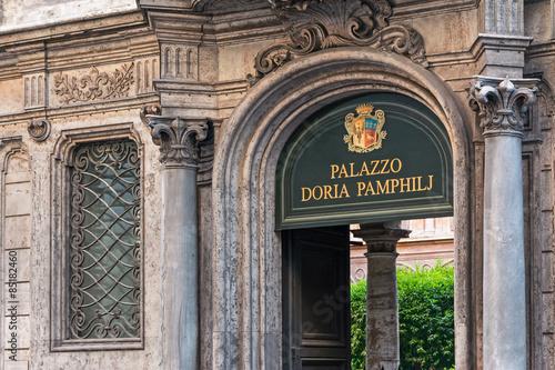 Fotografie, Obraz  palace doria pamphilj