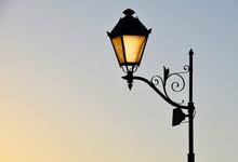 Street Antique Style Lamp Post...