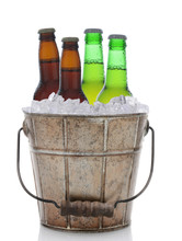Old Fashioned Beer Bucket With...