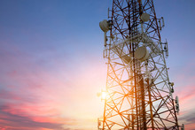 Satellite Dish Telecom Network...
