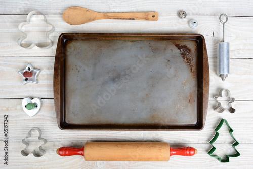 Fotografie, Obraz  High Angle Baking Still Life