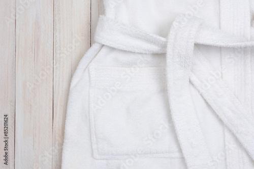 Fotografie, Obraz  Župan na bílém dřevěném stole