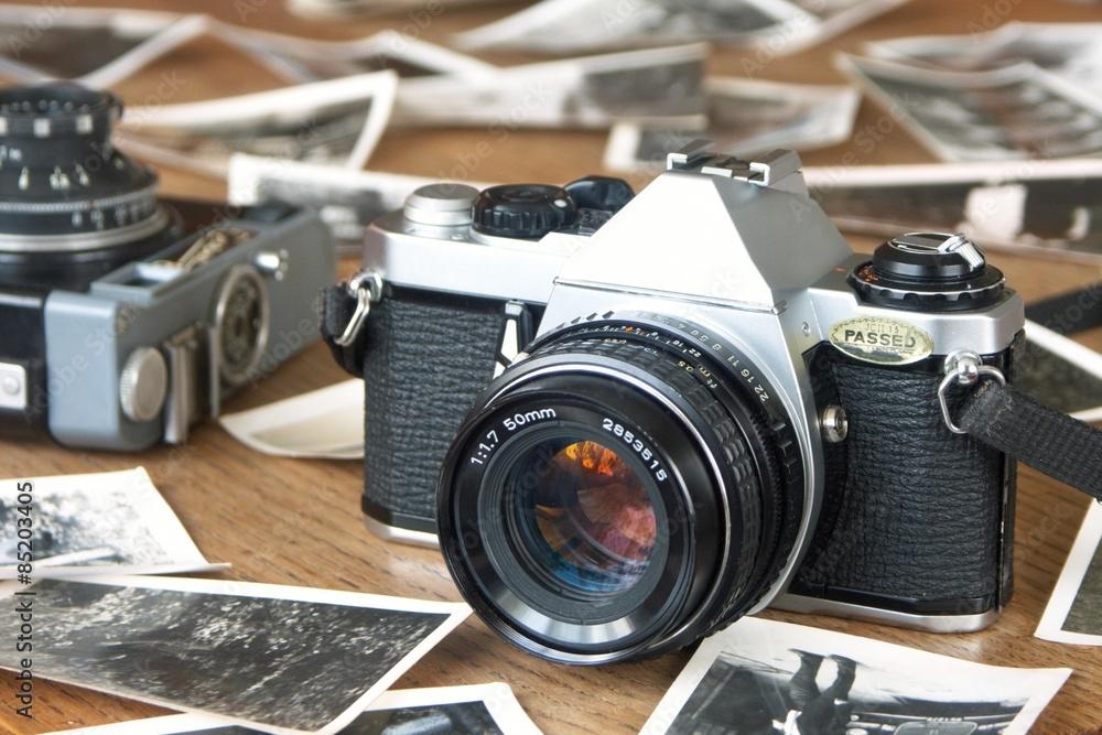 Fototapety, obrazy: Old camera