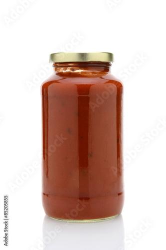 Fényképezés  Jar of Spaghetti Sauce