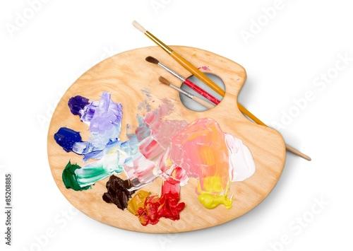 Artist, paint, art. Fototapeta