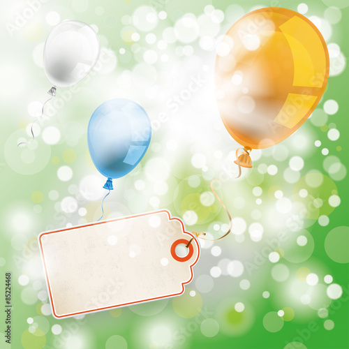 Summer Sunlight Balloons Price Sticker - Buy this stock