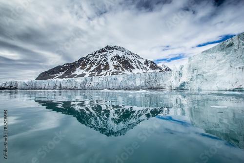 Foto auf Gartenposter Antarktika Arctic spring in south Spitsbergen