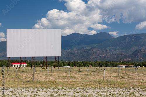 Photo  Drive in movie theater in Buena Vista CO