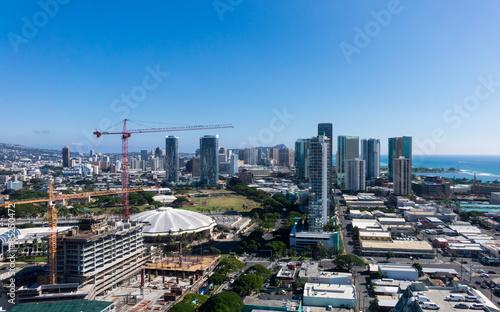 New construction of condos in Waikiki