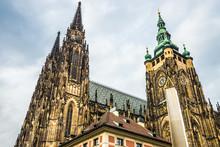 St. Vitus Cathedral Prague, Czech Republic.