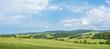 Panorama bei Erlbach/Vogtland