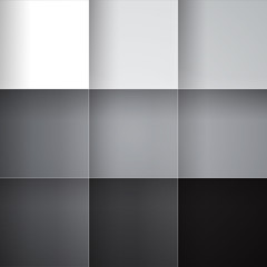 Obraz Gray squares abstract background