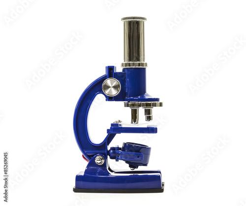 Fotografia  Microscope on White
