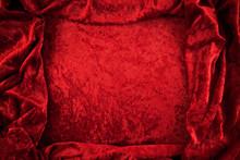 Crushed Red Velvet Background ...