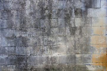 Fototapeta The Grey Brick Wall wallpaper