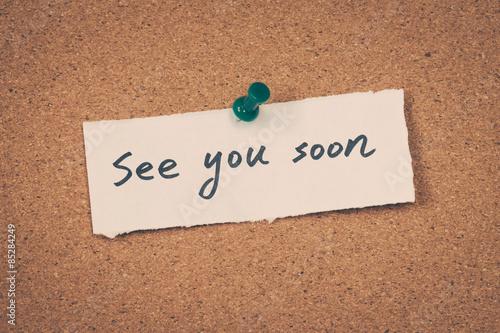Fotografía  see you soon