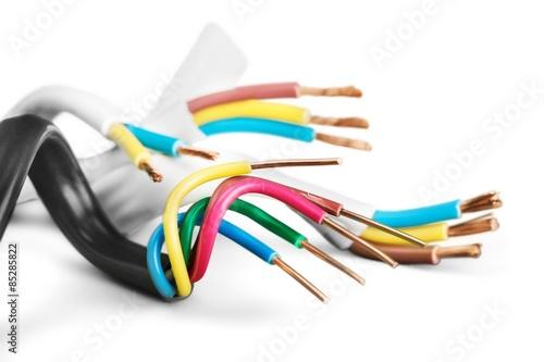 Pinturas sobre lienzo  Cable, Power Cable, Copper.