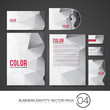 Set of Business Identity Vector Templates | Design Pack