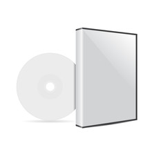 Cd Or Dvd Disc Cover Mockup